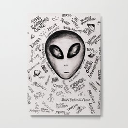 Ufology 101 Metal Print