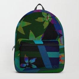 Floral patchwork Backpack