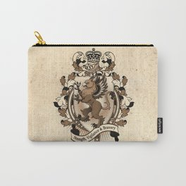 Gryphon Coat Of Arms Heraldry Carry-All Pouch