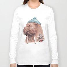 Tattooed Walrus Long Sleeve T-shirt