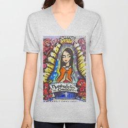 Nuestra Señora de Guadalupe Unisex V-Neck