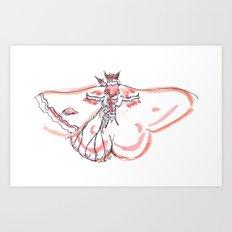 Mothling Art Print