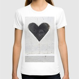 Peeking into your heart T-shirt