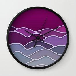 Minimal Landscape 3 Wall Clock