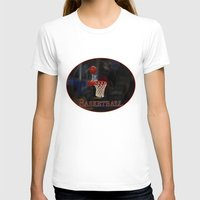 basketball T-shirts featuring Basketball by LoRo  Art & Pictures