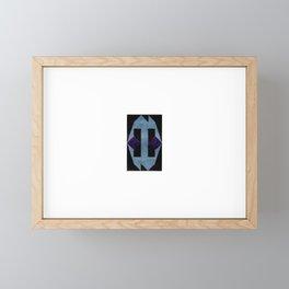 shard Framed Mini Art Print