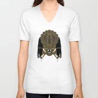 predator V-neck T-shirts featuring Predator by Nathan Owens