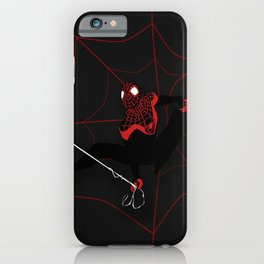 Ultimate Spider-man Miles Morales iPhone Case
