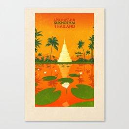Thailand - Sukhothai Canvas Print