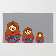 3 Matroyshkas Rug