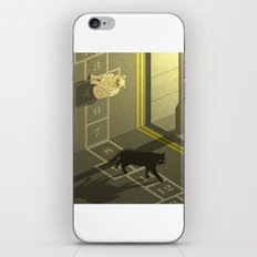 Cat Hopscotch  iPhone & iPod Skin
