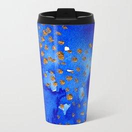 gold snow I Travel Mug