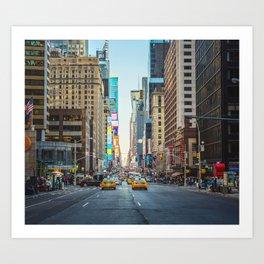 Sunset on 7th Avenue Art Print