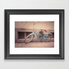 modern retro Framed Art Print