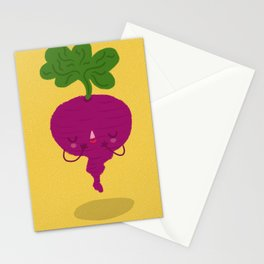 Shy Beetroot Stationery Cards