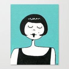 Cheerful Eloise Canvas Print