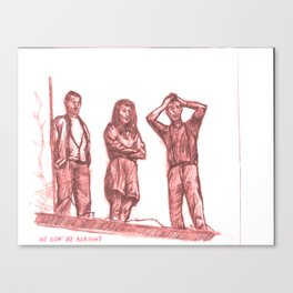 We Gon' Be Alright Canvas Print