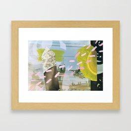 [Stille^Post]Karte Wien Framed Art Print