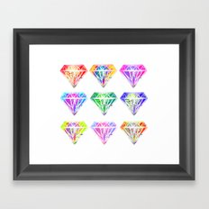 dyemonds Framed Art Print