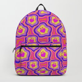 'I Love You Umlaut' Valentine's Pattern - Neon & Bright Backpack