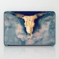 sugar skull iPad Cases featuring Sugar & Skull by RDelean