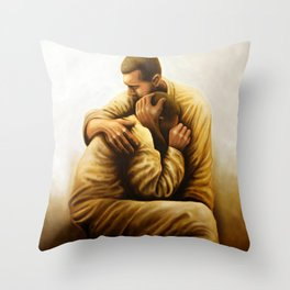 The Sound Of War Throw Pillow