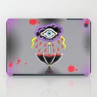 evil eye iPad Cases featuring Evil Eye.  by Alyssa Hall