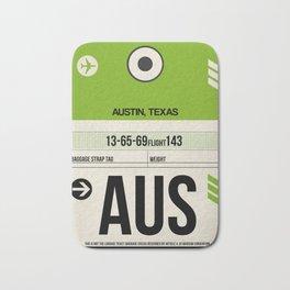 AUS Austin Luggage Tag 1 Bath Mat