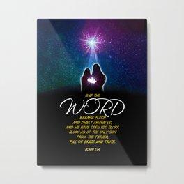 The Word Metal Print