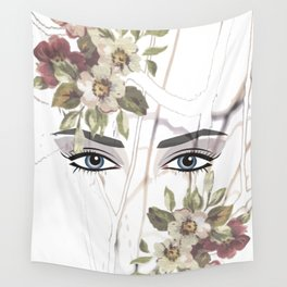 Eyes in the forest Wall Tapestry