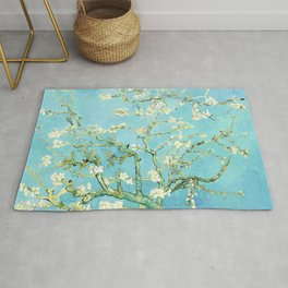 Almond Blossom (1890) by Vincent van Gogh Rug