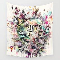 Interpretation of a dream - Tiger Wall Tapestry