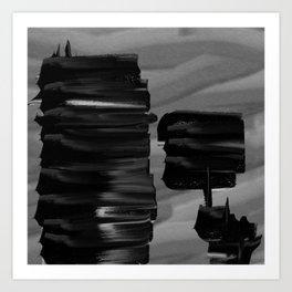Dark tension Art Print