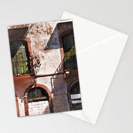 Old doors Casco Viejo Panama Stationery Cards