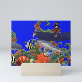 PIRATE SEA ADVENTURE Mini Art Print