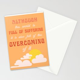 OVERCOMING Stationery Cards
