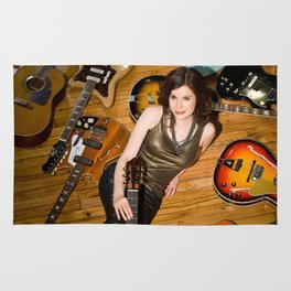 Guitars Rug