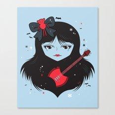 Kawaii Vampire Canvas Print