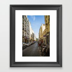 Montmartre series 5 Framed Art Print
