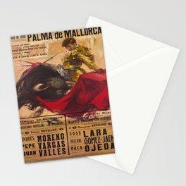 Plakat palma de mallorca plaza de toros Stationery Cards