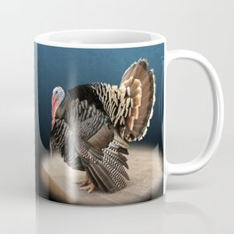 Spotlight on a Male Turkey Coffee Mug