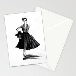 Fashion 1950 Stationery Cards