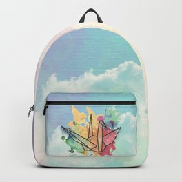 Sundara Tsuru with Clouds Backpack