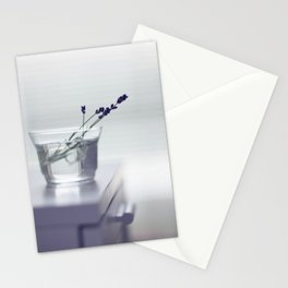 Lavender still-life Stationery Cards