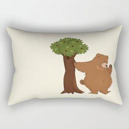Bear and Madrono Rectangular Pillow