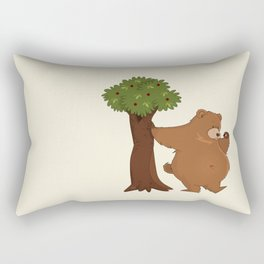 Bear and Madrono Rectangular Pillow