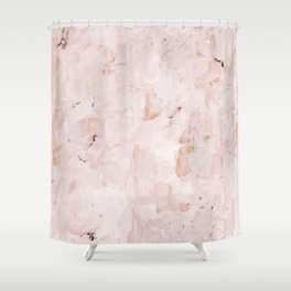 abstract-soft pink Shower Curtain