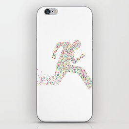 Dash For Love iPhone Skin