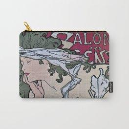 March April 1896 20th Salon des 100 Art Expo Paris France Carry-All Pouch