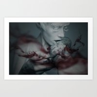 the cure Art Prints featuring Cure by Imustbedead